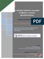 La Terapia Sistemica Europea