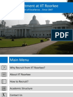 Recruitment @ IIT Roorkee