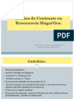 Medios de Contraste en Resonancia Magnética