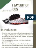Facility Layout of Nike Shoes
