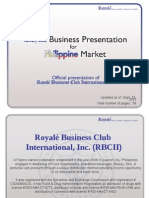 Royale Business Club presentation