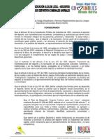 Reglamento Antonio Nariño 2013