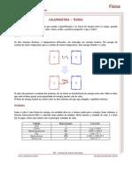 Calorimetria - Teoria