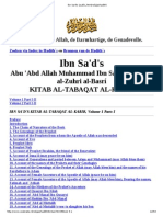 Kitab Al Tabaqat Al Kabir