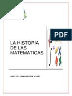 La Historia de Las Matematicas-yanett Mayorga