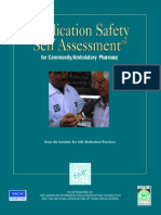 Medication Safety Self Assesment