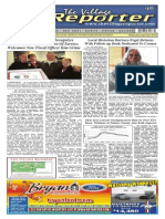 The Village Reporter - April 2nd, 2014