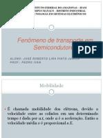 Fenômeno de transporte em Semicondutores