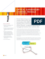 Optical Supervisory Channel Module DS
