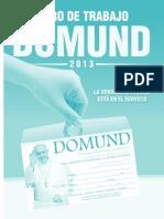 Libro de Trabajo Domund 2013