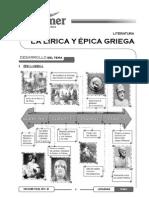 Tema 02 - Literatura Griega Épica y Teatro Griego