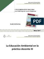 Encuadre Educación Ambiental III. Productos (2)