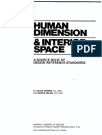 Human Dimension & Interior Space