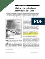 la necesidad de avanzar hacia un Historia Ecológica para Chile (Ramirez)