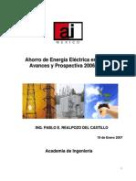 El Ahorro de Energia Electrica en Mexico