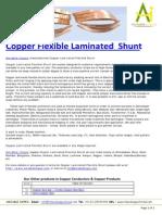 Copper Flexible Laminated Shunts