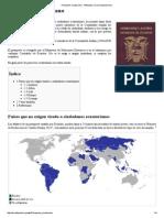 Pasaporte ecuatoriano (paises donde viajar sin visa) - Wikipedia.pdf