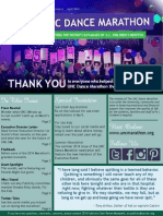 April 2014 UNC Dance Marathon Newsletter