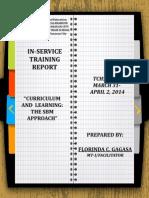 Inset Report