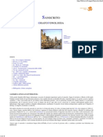 Scrittura Devanagarica e Fonologia