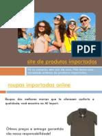 Roupas Importadas Online
