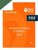 Clase 07 Bioenergetica-Biologicos Ll 2013 Modo de Compatibilidad