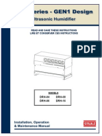 Stulz Drh Humidifier Service Manual