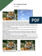 Tutorial Photoshop CS3 – maschera di livello