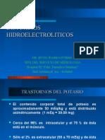 DISTURBIOS HIDROELECTROLITICOS