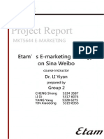 Etam Final Report_Group II