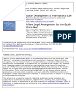 A New Legal Arrangement for the South China Sea