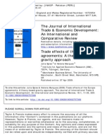 Trade effects of the Europe agreements