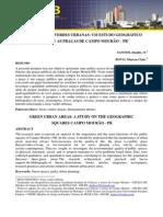 Santos Areas Verdes Urbanas Um Estudo Geografico Sobre as Pracas de Campo Mourao Pr