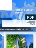 Industrial Relation & Labour Welfare