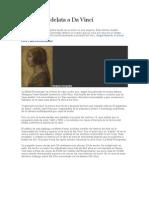 Una Huella Delata a Da Vinci (Nuevo Cuadro de Da Vinci)