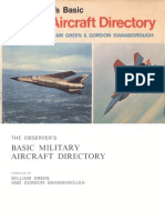 (1975) The Observer's Basic Military Aircraft Directory