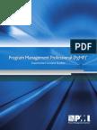 PgMP Examination Content Outline 2011 Sec