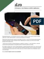 Tech Mobile Adio Roaming Parlamentul European Votat Eliminarea Tarifelor Suplimentare 1 533d3c3f0d133766a8771e66 Index