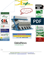3rd April,2014 Daily Global Rice E-Newsletter by Riceplus Magazine