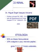 Colico Renal, Dr. Miguel Vásquez Anicama