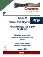 Minicurso Rotinas Da Comissao de Licitacao[1]