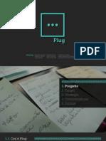 Plug Social Web Tv // Sordi & Baccani paper format