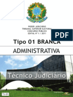 Consulplan 2012 Tse Tecnico Judiciario Area Administrativa Prova