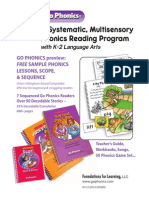Go Phonics-Lesson Samples