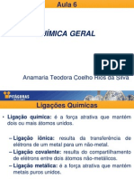 Aula 6 - Ligacoes Quimicas_20140318232657