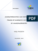 Piazzon N. Characterization and Detection of Traces of Energetic Materials by Nanocalorimetry