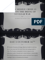 cuban missile crisis 13 days on the brink powerpoint