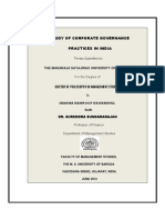 3 a Study of Corporate Governance Practices in India