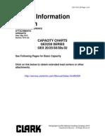 Tabla de Capacidades GEX