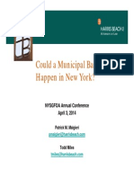 Could a Municipal Bankruptcy Happen in NY?